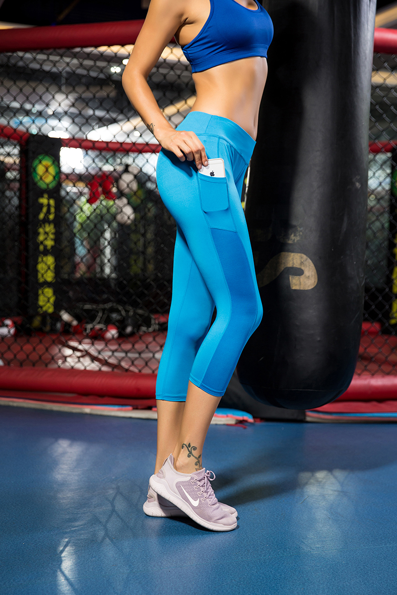 Sport Gym Pants Ladies Fitness Leggings Workout Clothes For Women