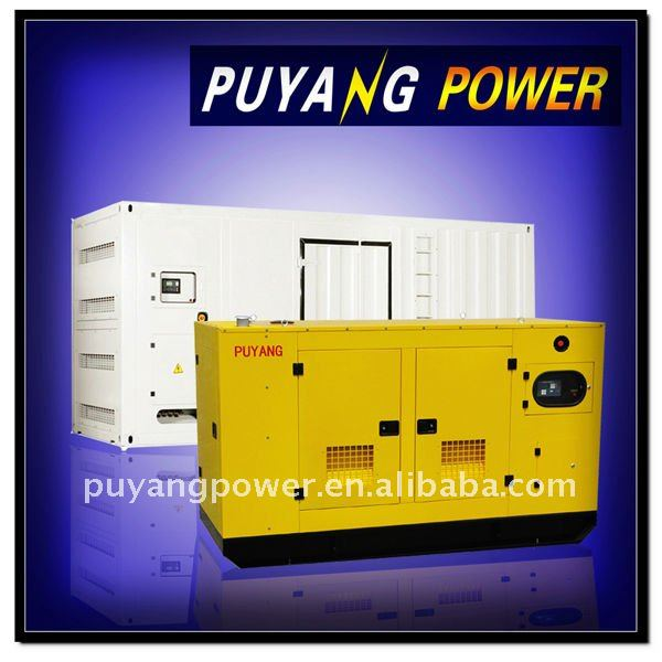 Full range of 10kVA to 2000kVA 75dB soundproof diesel generator with ATS