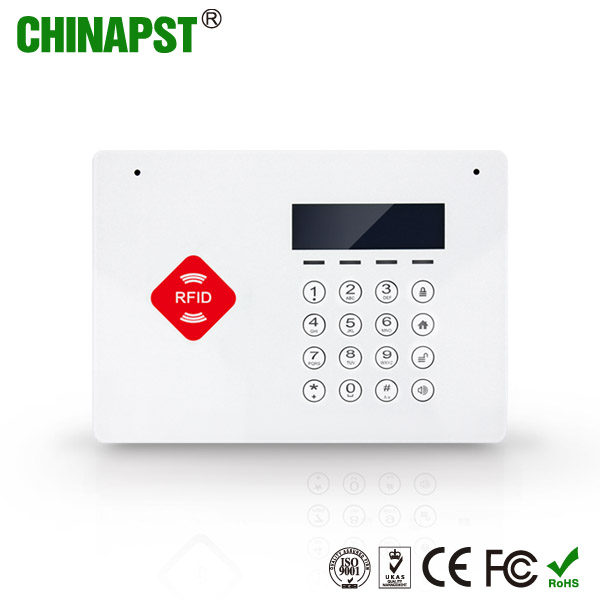 2017 Most popular Wireless App Controlled GSM RFID 50 Home Alarm Anti-Theft GSM laser burglar alarm PST-G66B
