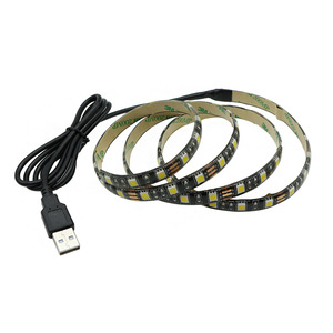 color changing TV backlight rgb 3528 LED usb 5v 12v rgb 2835 led strip 5050 rgbw build in ic led stripe