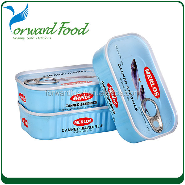Sea Food Canned Fish Canned Sardine From Morocco