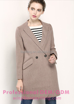 special section select for best select for official Ladies Office Wear Tailored Collar Woolen Winter Coat Women Long Coat  Design - Buy Ladies Wool Long Winter Coats,Young Ladies Fashion  Coats,Fitted ...
