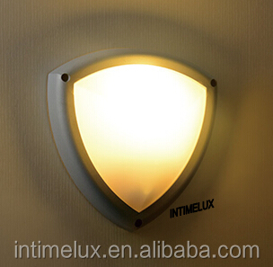 91140a-led Triangle Low Energy Outdoor Villa Wall Lamp