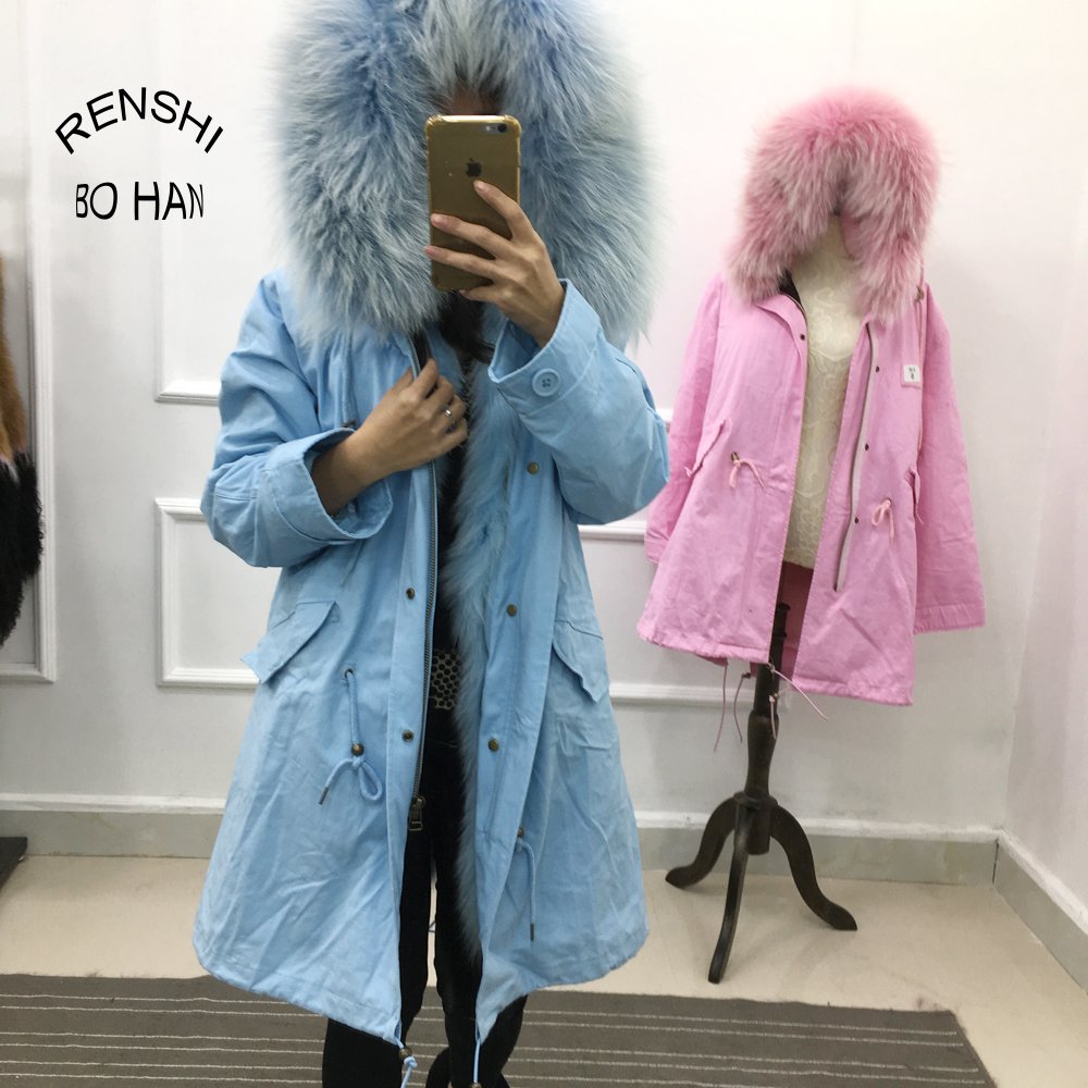 Colored Different Types Fur Coat Low Price Women Winter Clothes