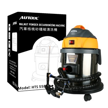 AUTOOL HTS558 Automotive Motor Wassen Inlaattraject Klep Schoon Machine diesel Systeem Walnoot Zand Carbon Afzetting Cleaner
