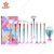 11Pcs  Mermaid Makeup Brushes Set For Foundation Eyebrow Eyeliner Blush Concealer Blending professional  make-up brush