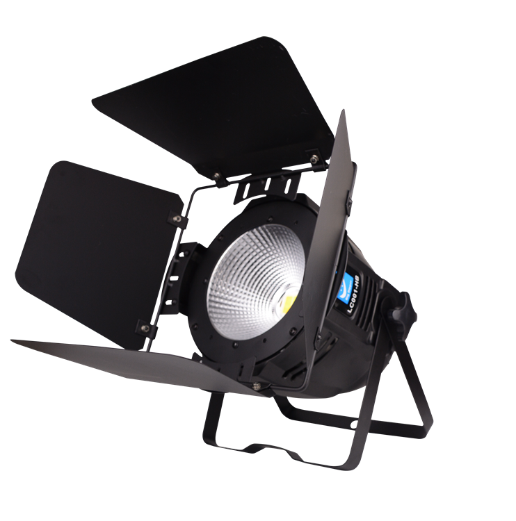 Cob 100w Dmx Stage Lighting With Barn Doors For Theater Lc001 Hb Led Studio Par Light 512