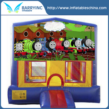 Best selling thomas the train inflatable bouncer