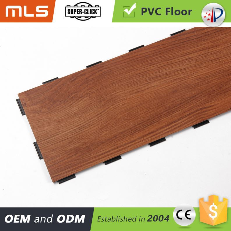 Direct Factory Price Non Slip Floor Click System Old Wood Pvc Vinyl Plank