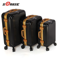 China supplier Sun Hope professional aluminum luggage case with GPS