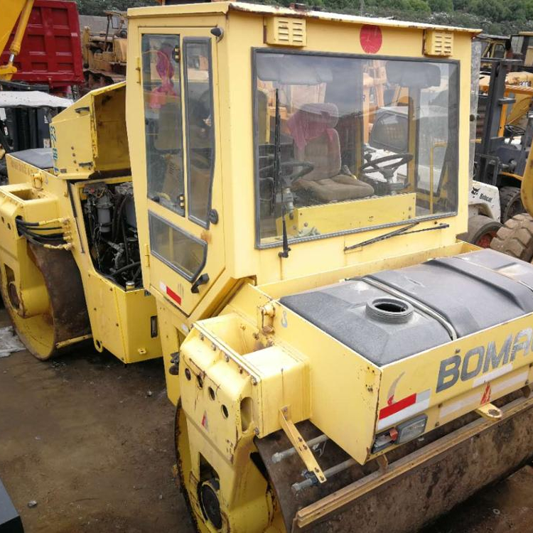 Germany Original Used Bomag Tandem Roller BW202AD-2 Running Condition