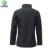 Full Zip Black High quality  solid track jacket  women's  jacket Breathable shell Regular Fit Good Performance