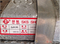 High quality Zinc ingot / Manufacture supply