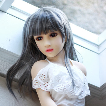 100cm Mini Size Full Body Realist Touch Feeling Flat Chest Cheap 18 Young Girl Sex Doll for Man