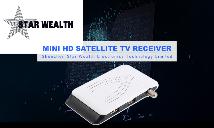Free Shipping Mini DVB-S2 T1998  Satellite Receiver Receptor  YouTube  USB WiFi H.264 EPG Set Top Box