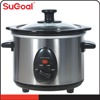 1.5L Ceremic Round Shape Slow Cooker with UL approval