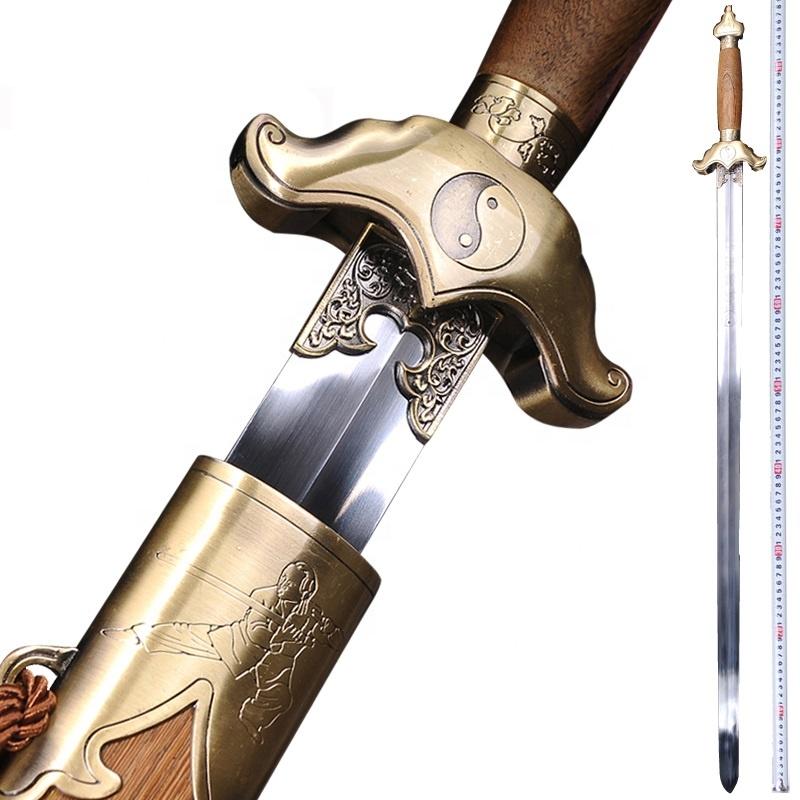Tai Chi Swords Taiji Jian Wushu Kungfu Swords Chinese Swords for Beginners фото