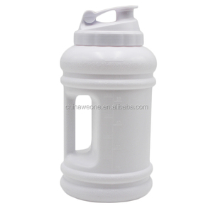 Outdoor 2.2L BPA FREE plastic gym water bottle for whey protein