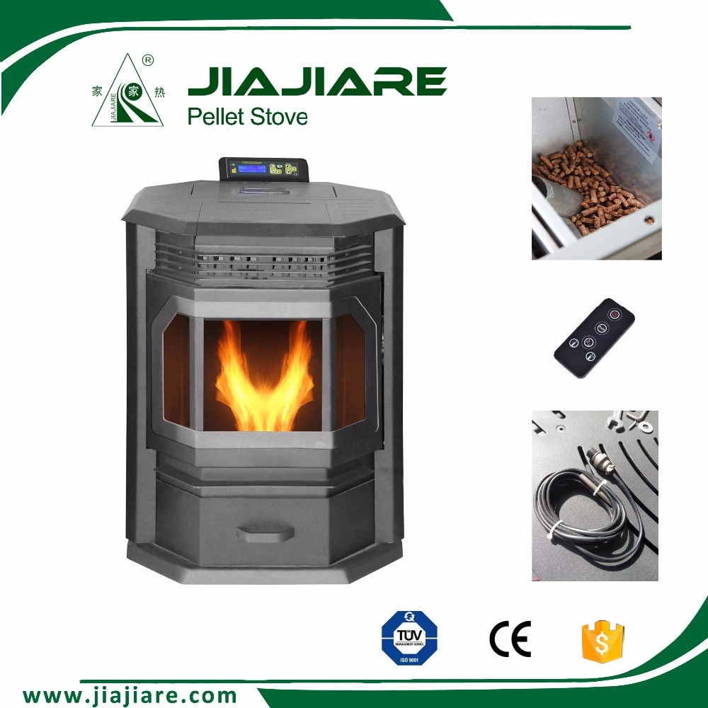 ceiling mounted fireplace, wood pellet stove from china with Remote Control
