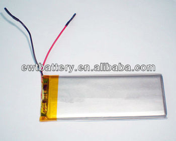 3.7v 3000mah Lipo Battery/ Rechargeable Lithium Polymer Battery ...