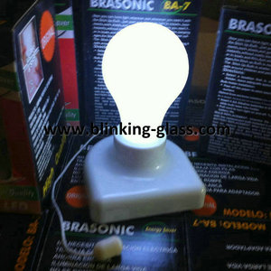 Lighted- Up handy Bulb Stick- up