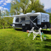 2018 Hot sale high quality luxury off road camping caravan trailer from manufacturer