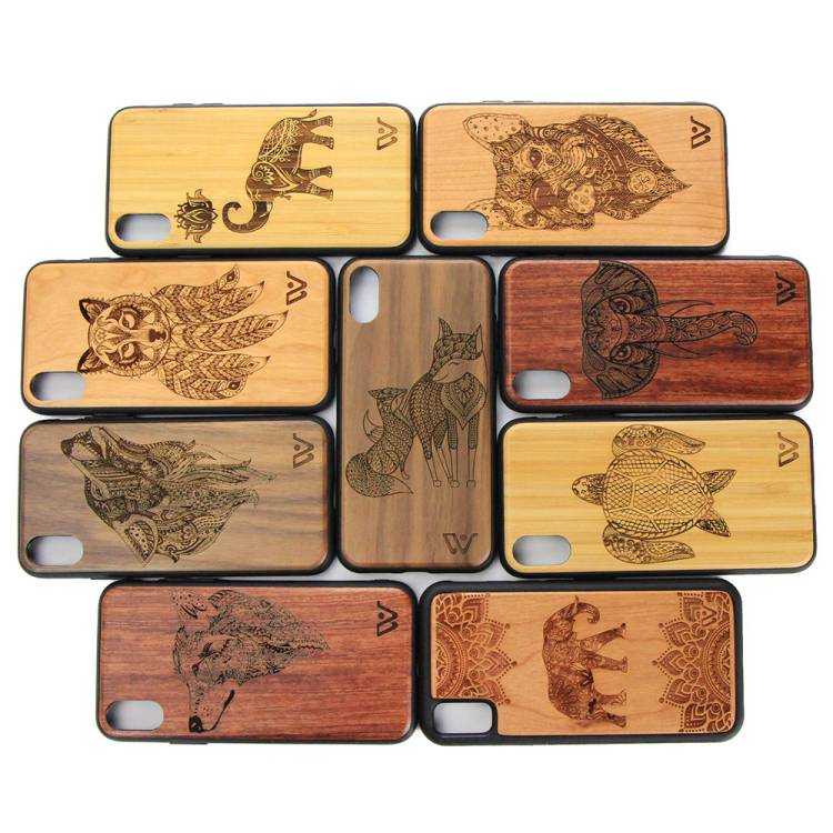 Design Wood Phone Back <strong>Cover</strong> Case Import Mobile Phone Accessories Wood <strong>Cover</strong> for iPhone 7