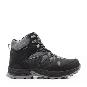 High quality waterproof outdoor shoes with suede and nubuck acntion leather upper