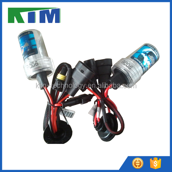 KIM hot sale xenon HID bulbs with all sizes and colors 9006 - 6000k one pair
