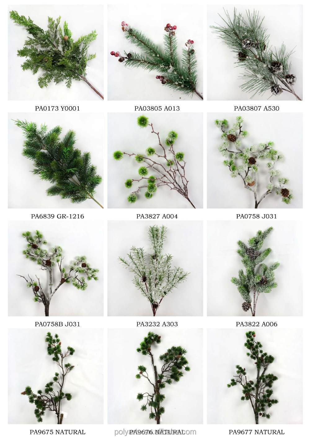 28 Artificial Red Berry Branch Tree Branches Christmas
