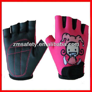 2013 new style Fingerless Kids sport gloves