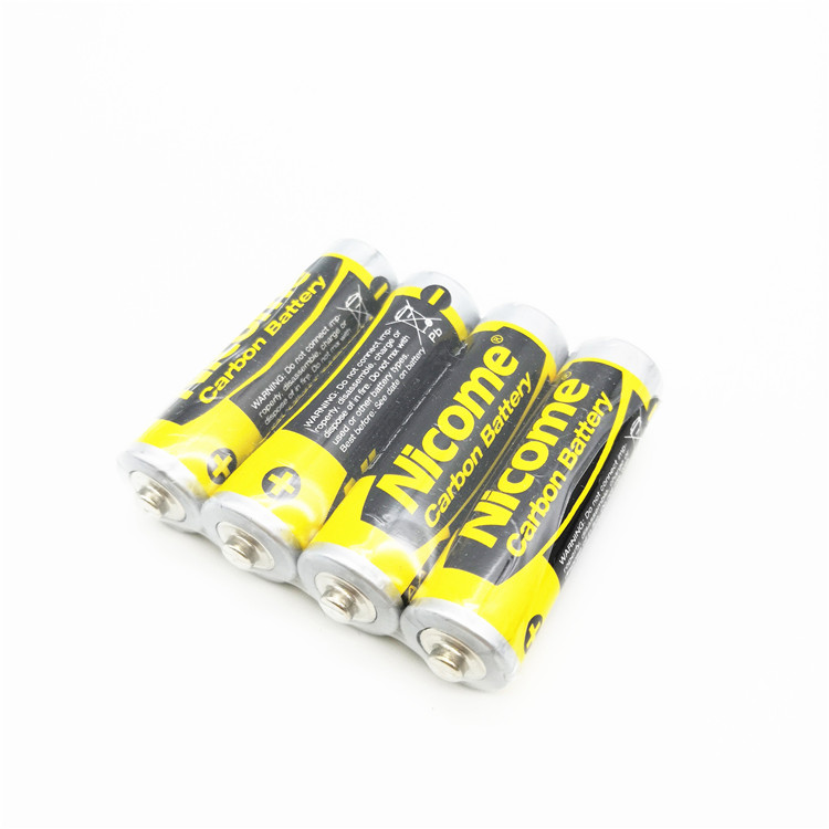 Hot sale AA R6P super heavy duty UM3 battery primary dry batteries for toys