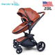 US Stock Amazon top seller 2018 Wonder Buggy Luxury baby stroller 2 in 1