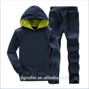 2016 wholesale New Brand fashion cheap men Hoodies Sweatshirts custom Print Hoodie+Pants Suits Set