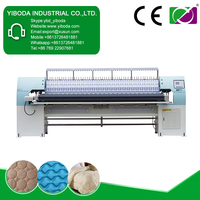 Muti-head embroidery single bed quilt pattern machine