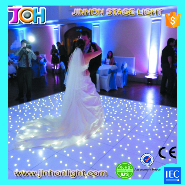 lumiere weight disco P10 anti-slip Sound Active rental led dance floor