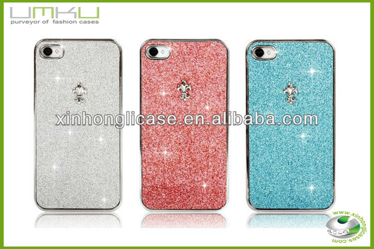 Beautiful Mobile Phone Covers,Stone Bling Case For Iphone 4