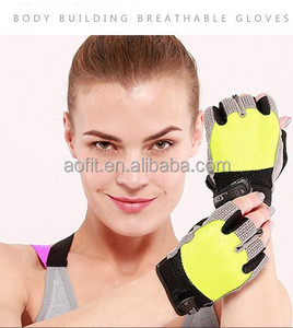Factory supply high quality gym sloves for sports weight lifting fitness cycling gloves hand gloves