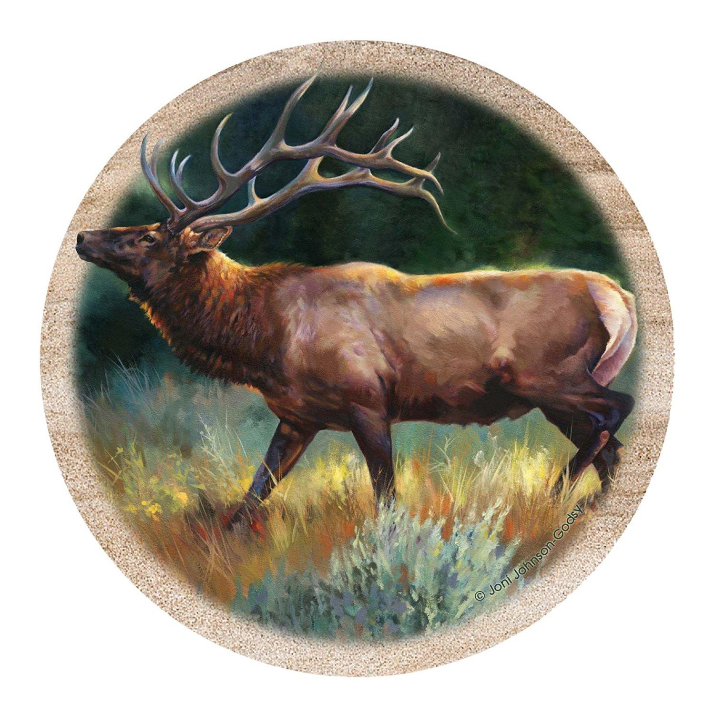 Thirstystone Drink Coaster Set, Elk