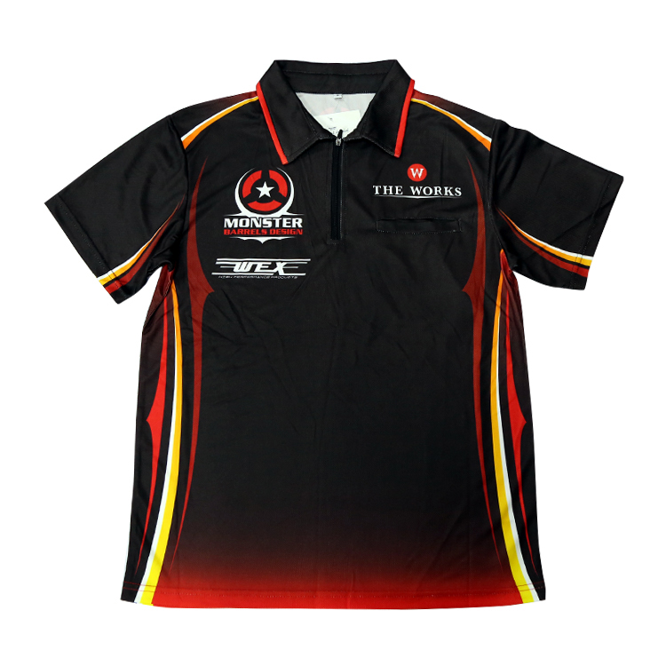 8fc6ab7e2 Custom Darts Polo Shirt Dart Jerseys Sublimation Darts Shirts - Buy ...