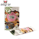 Food grade heat seal biodegradable waterproof paper bag for tea nuts protein coffee snack