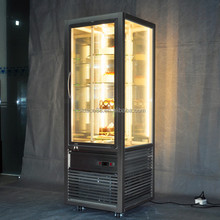Upright stainless steel bread display cabinet with certificate