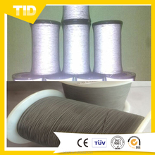 TID Hot Sale Polyester Reflective Yarn/ Sewing Thread Line Embroidery Spool Safety Garment DIY