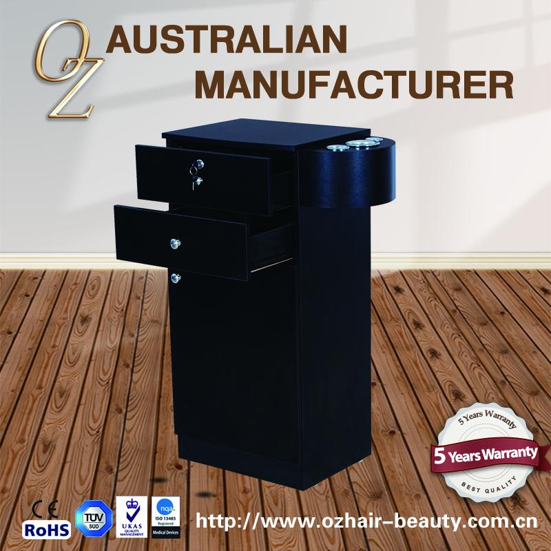 Black Hair Dryer Beauty Salon Spa Rolling Trolley Storage ...