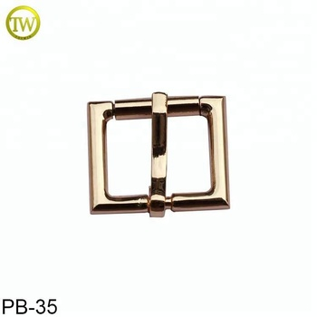 Wholesale metal adjustable strap clip pin belt bags buckle with cheap price