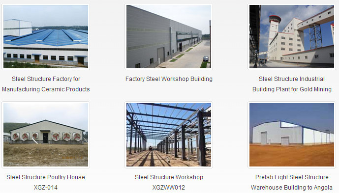 light fast install cheap steel structure shed