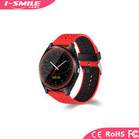 2017 New Design Sport Fitness V9 GPS Bluetooth Smart Watch with Camera for Children and Adult