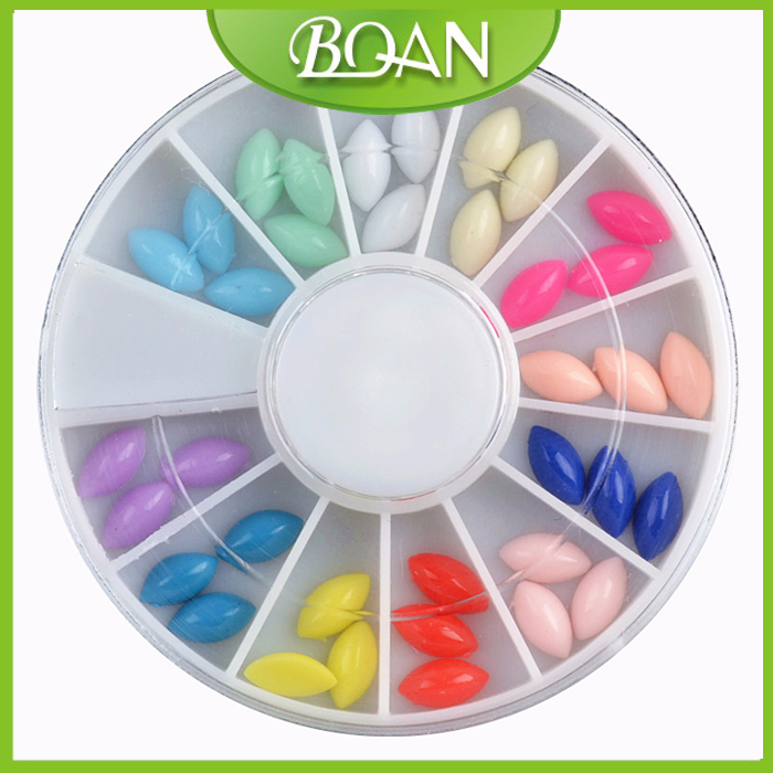 2015 BQAN 3D Acrylic Nail Art Mold DIY Decoration Bulk Decorative Nail Heads