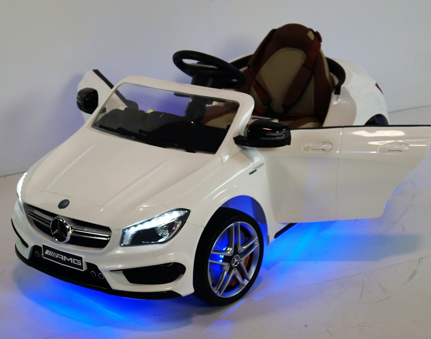 Newest Exclusive Edition Ride on Car/ Toy Mercedes-Benz, Music, Lights, MP3 - Licensed Model for Boys, Girls, Kids with Remote Control