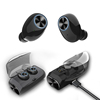 Amazon New type truly stereo Bluetooth 5.0+EDR waterproof sport wireless bluetooth earphone earhook